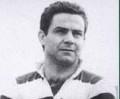 Piero Gabrielli in tenuta da Rugby