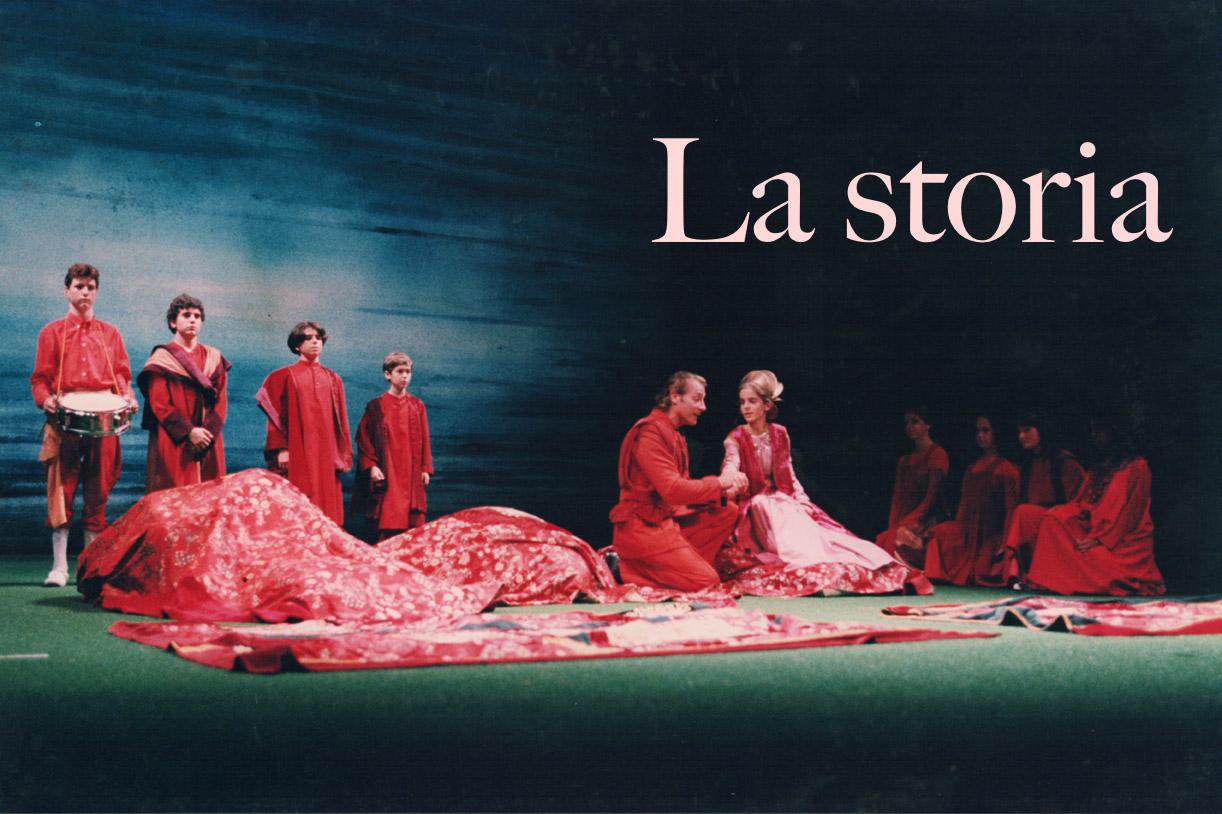 Immagine tratta da una rappresentazione teatrale