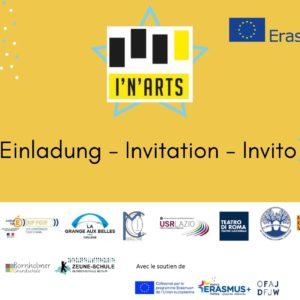 2984 FUGA DALL'EUROPA – Erasmus I'N'ARTS