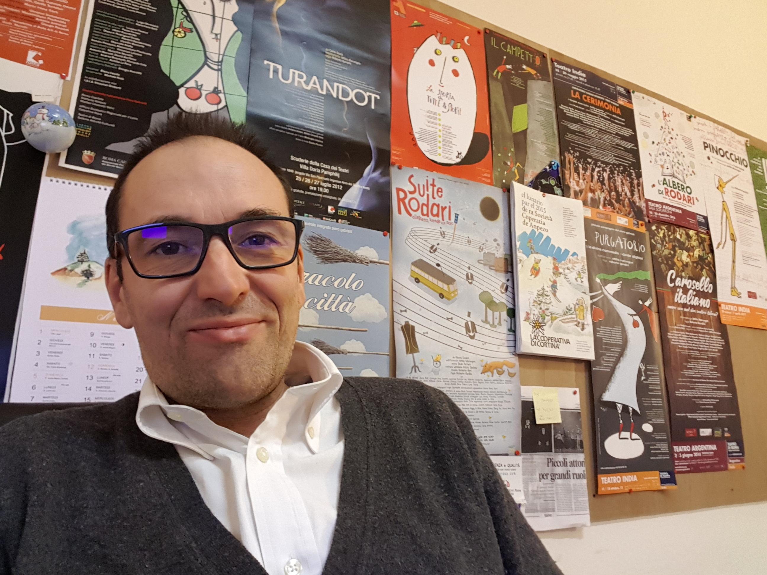 Giorgio Lourier (segreteria teatro di Roma presso il Laboratorio teatrale integrato Gabrielli)