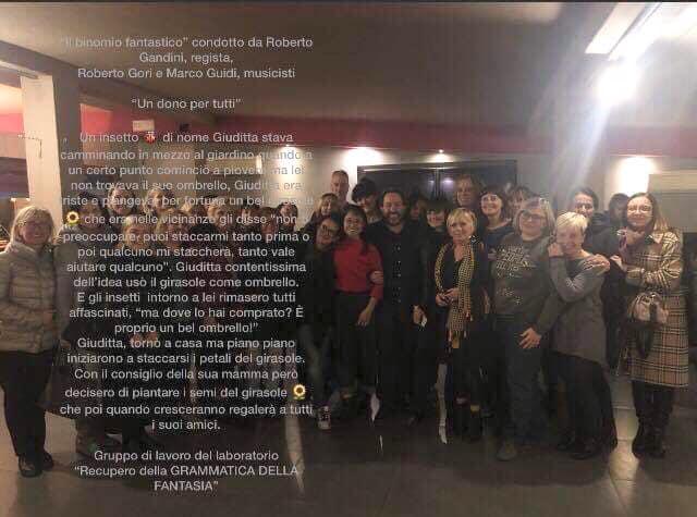 Corso di aggiornamento per docenti organizzato dal Comune di La Spezia su l'esperienza del Gabrielli con le storie di Gianni Rodari;