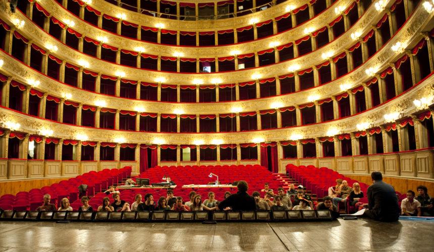 Prove al teatro Argentina di Roma
